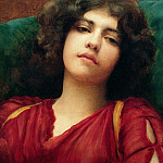 John William Godward - Reverie (Study)