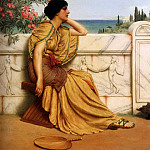 Leisure Hours, John William Godward