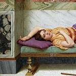 John William Godward - THE DAY DREAM