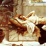 Resting, John William Godward