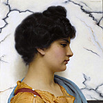 John William Godward - An Arcadian beauty