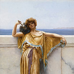 John William Godward - CLYMENE