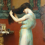 The Toilet, John William Godward
