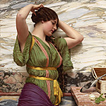 A FAIR REFLECTION, John William Godward