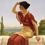 John William Godward - The Signal
