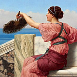 A Signal, John William Godward