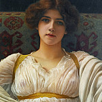 John William Godward - Miss Ethel Warwick