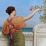 A Choice Blossom, John William Godward