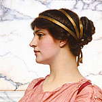 John William Godward - Roman Beauty