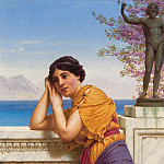 John William Godward - Rich Gifts Wax Poor When Lovers Prove Unkind