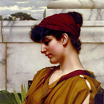 A Classical Beauty In Profile, John William Godward