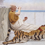 John William Godward - Eighty and eighteen
