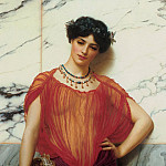John William Godward - Drusilla