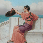 A Fond Farewell, John William Godward