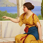 John William Godward - Ancient Pastimes