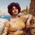 Ionian Dancing Girl, John William Godward
