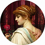 John William Godward - Chloris
