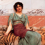 John William Godward - Sweet Dreams