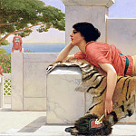 Expectation, John William Godward
