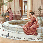 John William Godward - Innocent Amusements