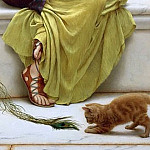 Idleness, John William Godward
