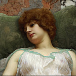 Idle moments, John William Godward