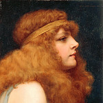 An Auburn Beauty, John William Godward