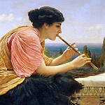 A Melody, John William Godward