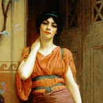 At the Garden Door, John William Godward
