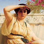 John William Godward - A Tryst