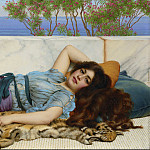 John William Godward - Repose