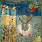 Legend of St Francis 12. Ecstasy of St Francis, Giotto di Bondone