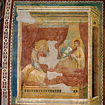Jacob Receiving His Fathers Benediction, Giotto di Bondone