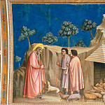 Giotto di Bondone - 02. Joachim among the Shepherds
