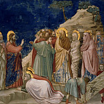 25. Raising of Lazarus, Giotto di Bondone