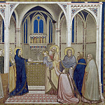 Giotto di Bondone - Frescoes of the north transept - Presentation of Christ in the Temple