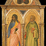 Giotto di Bondone - Philip the Apostle and Saint Leonard (In trefoil, Saint Francis of Assisi)