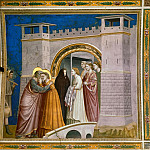 06. Meeting at the Golden Gate, Giotto di Bondone