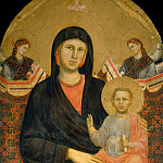 Uffizi - Madonna and Child with Two Angels
