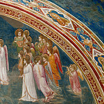 13. God Sends Gabriel to the Virgin, Giotto di Bondone