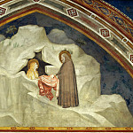 Giotto di Bondone - Scenes from the Life of Mary Magdalen: The Hermit Zosimus Giving a Cloak to Magdalen