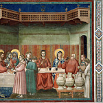 24. Marriage at Cana, Giotto di Bondone