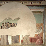 Bardi Chapel: Vision of the Ascension of St Francis, Giotto di Bondone