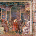 Giotto di Bondone - 22. Christ among the Doctors