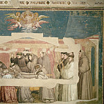 Giotto di Bondone - Bardi Chapel: Death and Ascension of St Francis