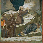Legend of St Francis 14. Miracle of the Spring, Giotto di Bondone
