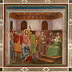 Giotto di Bondone - 32. Christ before Caiaphas