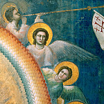 54 Last Judgment; detail, Giotto di Bondone