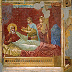 Esau appearing to Isaac, Giotto di Bondone
