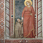 Scenes from the Life of Mary Magdalen: Mary Magdalen and Cardinal Pontano, Giotto di Bondone